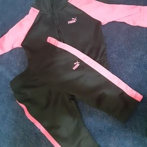 Baby girl jogger outfit